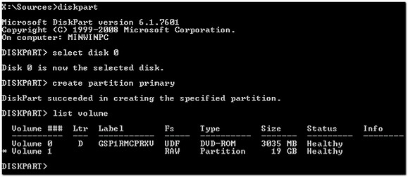 Windows 2008 R2 System Reserved Partition and Citrix Provisioning Server