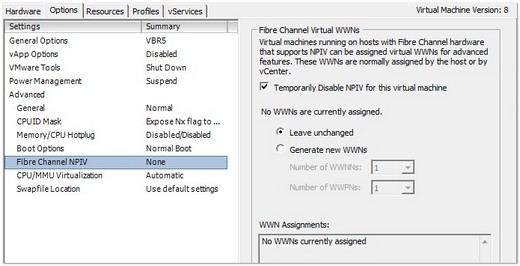 Determine requirements for and configure NPIV