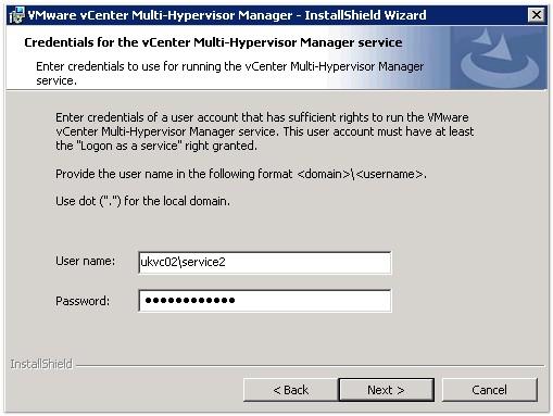 VMware Multi Hypervisor Manager