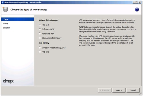 How to create a NFS share on a Windows 2008 R2 server for use with