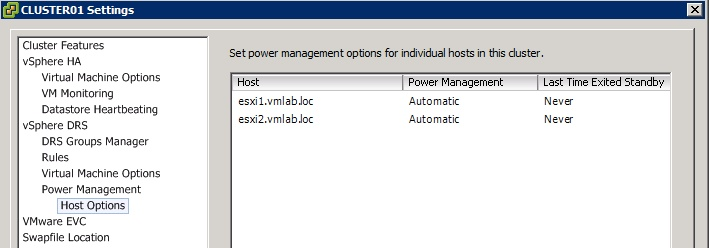 A Look at Distributed Power Management on vSphere 5