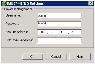 esxi-ipmi-ilo-settings
