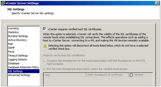 vcenter-ssl-settings