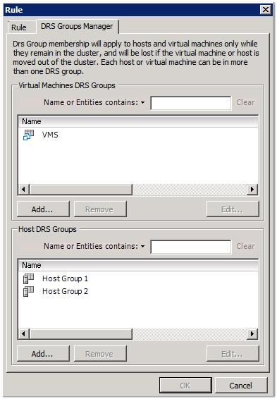 vm-host-affinity-drs-groups