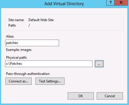 umds-virtual-directory-iis