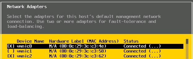Troubleshoot VMKernel Related Network Configuration Issues