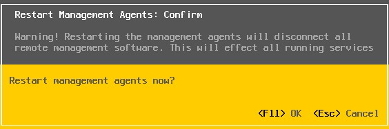 Troubleshoot ESXi Host Management And Connectivity issues