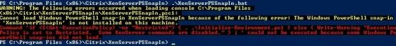 xenserver-pssnapin-error