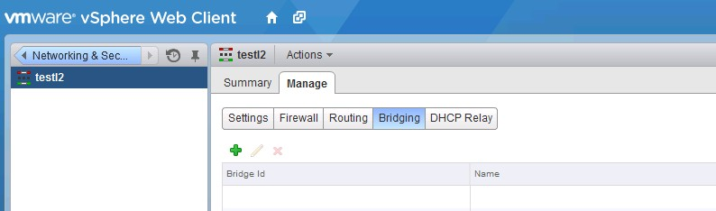 VCP-NV: Configure and Manage Layer 2 Bridging