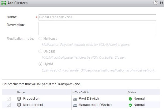 nsx-add-clusters-to-transport-zone