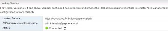 nsx-connected-lookup-service