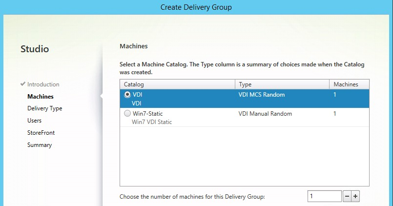 XenDesktop 7 5 – Creating and Configuring Delivery Groups