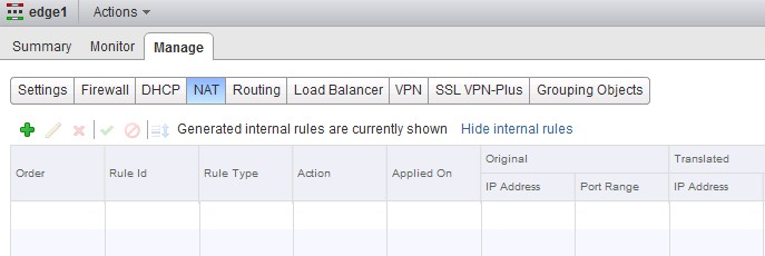VCP-NV: Configure and Manage DHCP/DNS/NAT