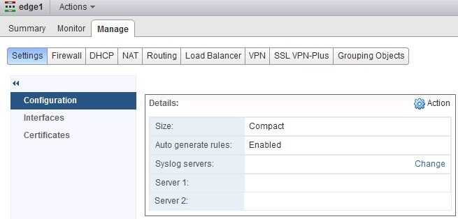 VCP-NV: Deploying an Edge Services Gateway