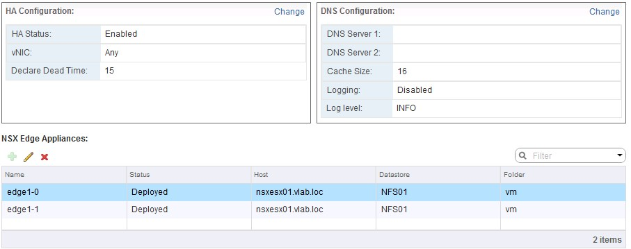 VCP-NV: Configure and Manage Edge Services High Availability