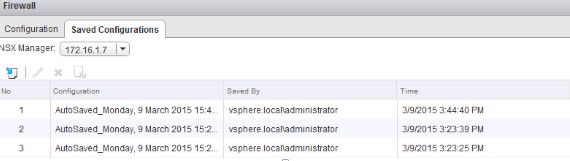 VCP-NV: NSX Firewall Services