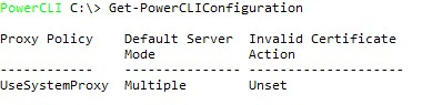 get-powercliconfiguration