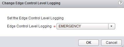 nsx-router-logging-levels