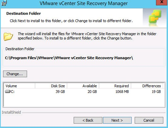 Part One - Site Recovery Manager 6 0 – Installing SRM 6 0 - VMWARE