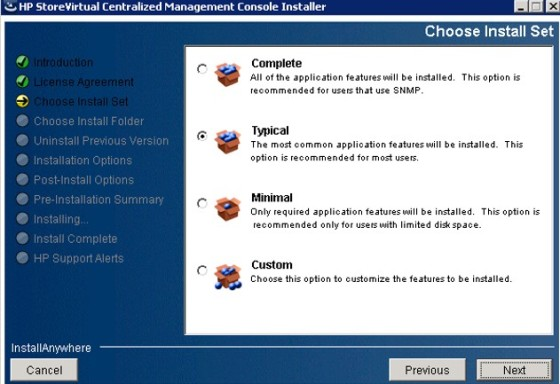 vsa-cmc-install-options