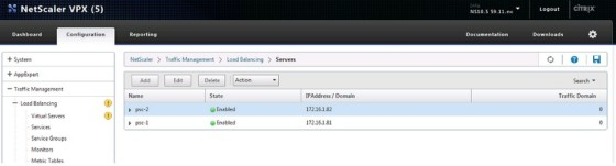 netscaler-added-servers