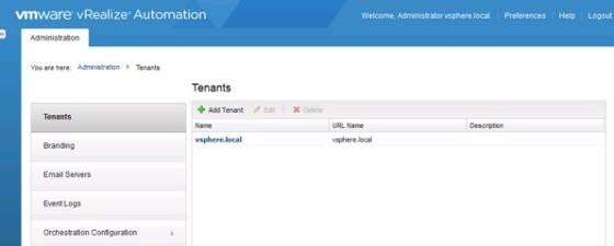 vra-default-tenant
