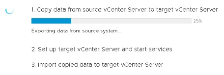 Upgrading VCSA to version 6 7 from 6 5